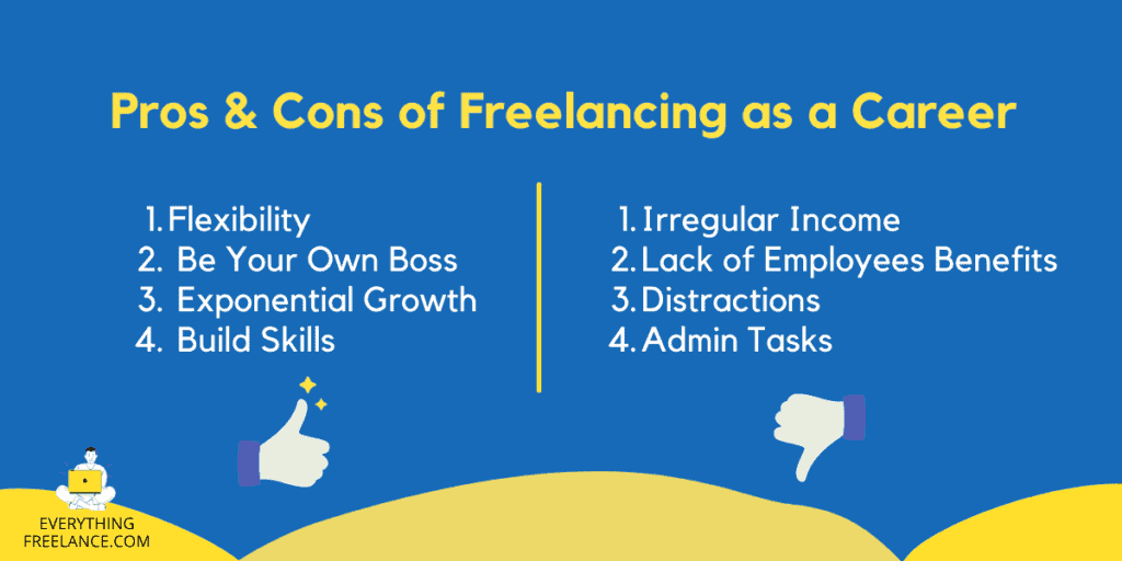 Pros and Cons of Freelancing As A Career