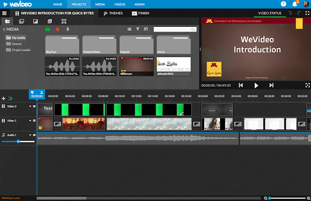WeVideo - Cloud Based Editing Software
