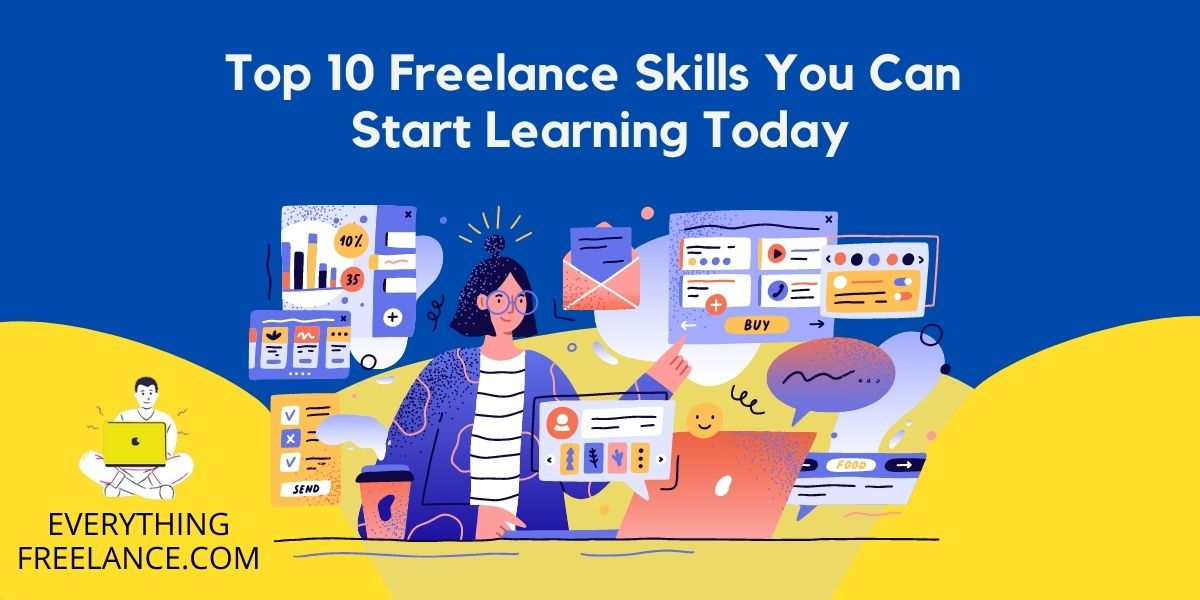 freelance skills that you can start learning today